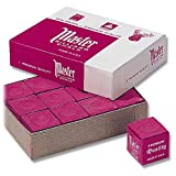 Billiard chalk Master Red Pack of 12