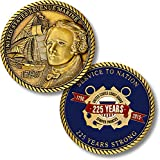 225 Years Service - United States Coast Guard Challenge Coin