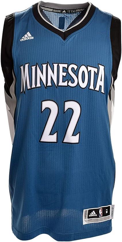 Andrew Wiggins Minnesota Timberwolves Adidas Swingman Blue Jersey