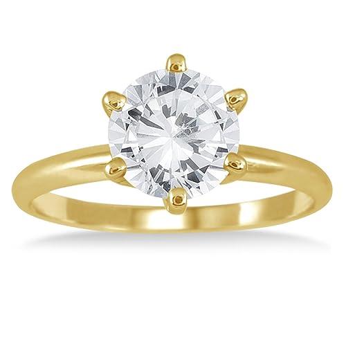 andare online Prezzo di fabbrica 2019 prezzo limitato AGS certificato diamante 1.50 ct anello solitario in oro ...