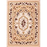Well Woven 18328 Bingo Dulcet Traditional Area Rug, 9'3'' x 12'6'', Ivory
