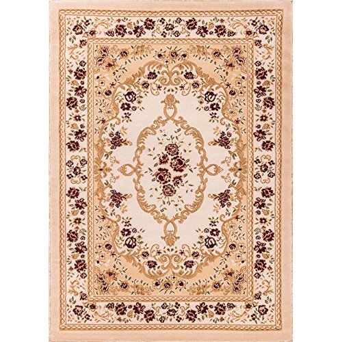 Well Woven 18328 Bingo Dulcet Traditional Area Rug, 9'3'' x 12'6'', Ivory by Well Woven