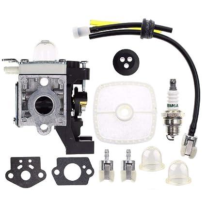 Amazon.com: m·kvfa Carburador para Echo SRM-225 GT-225 PAS ...