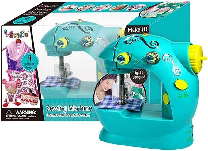 anna-neek manualidades – Máquina de coser para niños verde LED ...