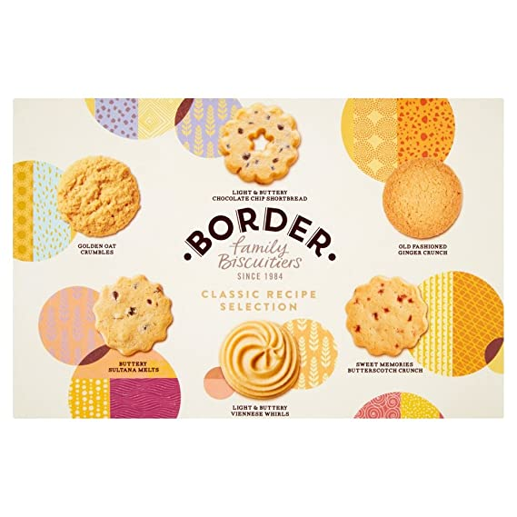 Border Biscuits, Surtido de Galletas Classic Recipe Selection - 300 gr.