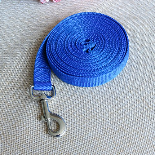 Any-long-training-track-line-Pet-traction-rope-dog-leash-chain-blue