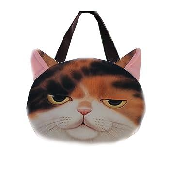 Gioger® 3D Harajuku lindo gato impreso Chicas hombro Bolsos Mujer Bolsos Bandoleras Bolsos Bolsa de la compra: Amazon.es: Equipaje