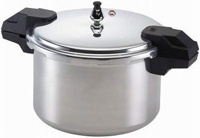 Amazon.com: Olla de presión Mirro 92122A de aluminio ...
