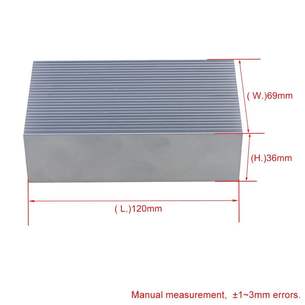 Aluminium Heat Sink Cooling Fin Radiator Heatsink Heat Cooler Diffuse