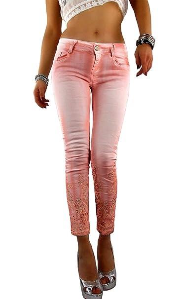 if she Pantalón de Jeans para Mujer Mozzaar en Corte ...