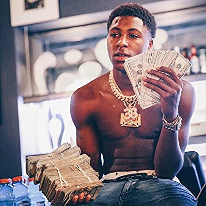 amazon get motivation nba youngboy rapper poster 12 x 18 inch