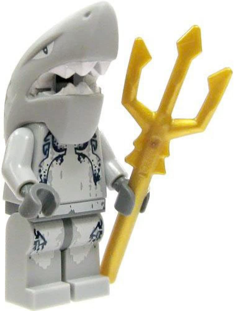 Lego Minifigure Atlantis ~ Squid Warrior With Trident