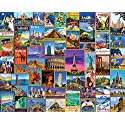 White Mountain Puzzles Best Places In The World Jigsaw Puzzle (1000 Piece)