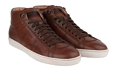 Sneaker Santoni Braun Herren Santoni Herren Herren Sneaker Braun Santoni 45Schuhe 45Schuhe Sneaker Braun Onk0wP