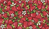 Toland Home Garden Strawberry Collage 18 x 30 Inch Decorative Floor Mat Red Summer Fruit Doormat