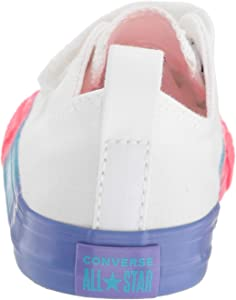 Converse Kids Infant Chuck Taylor All Star 2v Rainbow Midsole Low Top Sneaker