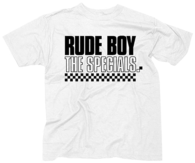 32723a60 Amazon.com: The Specials- Rude Boy T-Shirt Size S: Clothing