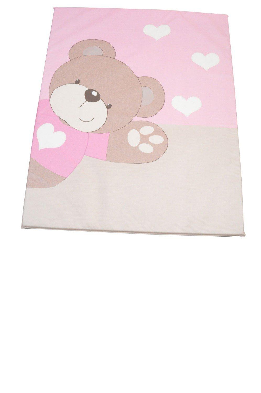 King Bear Fond de Parc en PVC Imprime Little Bear Rose 91785-338