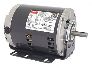 Dayton 3/4 HP Belt Drive Motor, Split-Phase, 1725 Nameplate RPM, 115/208-230 Voltage, Frame 56H