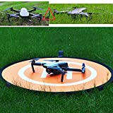 Landing-Pad-Portable-Foldable-Protective-Drones-Helicopter-Landing-Pad-helipad-30-75cm-for-DJI-Mavic-Pro-RC-Phantom-3-Phantom-4-Inspire-1-Quadcopters-and-Other-Drone-by-KEBE
