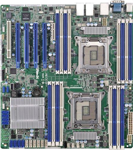 1066 Atx Motherboard - ASRock Motherboard ATX DDR3 1066 Intel LGA 2011 EP2C602-4L/D16