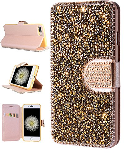 iPhone-7-Plus-Case-iPhone-7-Plus-Wallet-Case-FLYEE-Kickstand-Bling-Handcraft-Luxury-Rhinestone-Flip-Case-Magnetic-Crystal-Protective-Leather-with-Card-Slot-for-Apple-iPhone-7-Plus-55-Inch