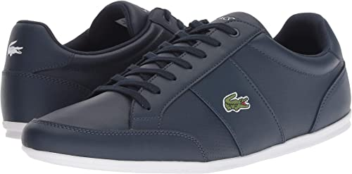 a10ca7f12ff27 Lacoste Men s Nivolor 318 Leather Lightweight Ortholite Court Fashion  Sneaker