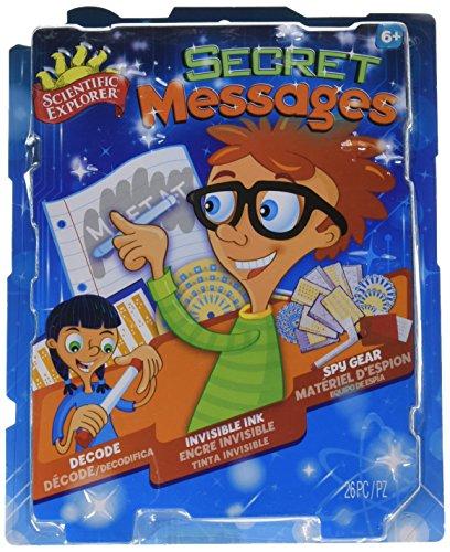 Mini Science Lab Slinky - Scientific Explorer Secret Messages Kit