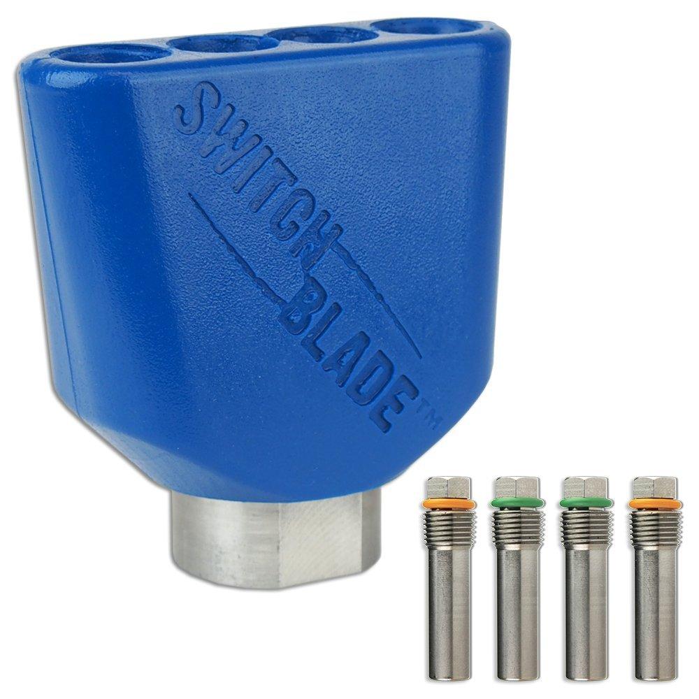 Switchblade Quad Static, Zero-Degree Nozzle, 3443 Kit, 11.0 GPM