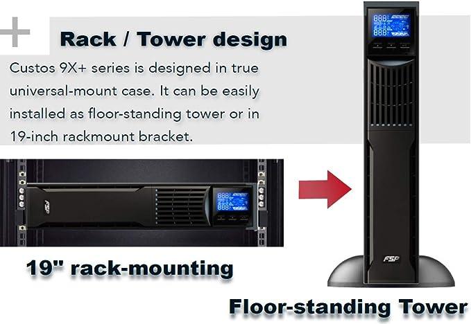 Fsp Fortron Custos 9x 3k Rack Mount Computer Zubehör
