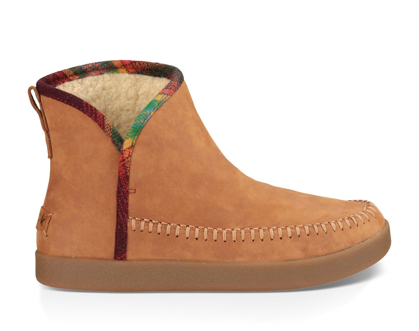 Sanuk Women's Nice Bootah Lx Boot Tobacco / Vintage Rainbow 8 & Cleaner by Sanuk, US