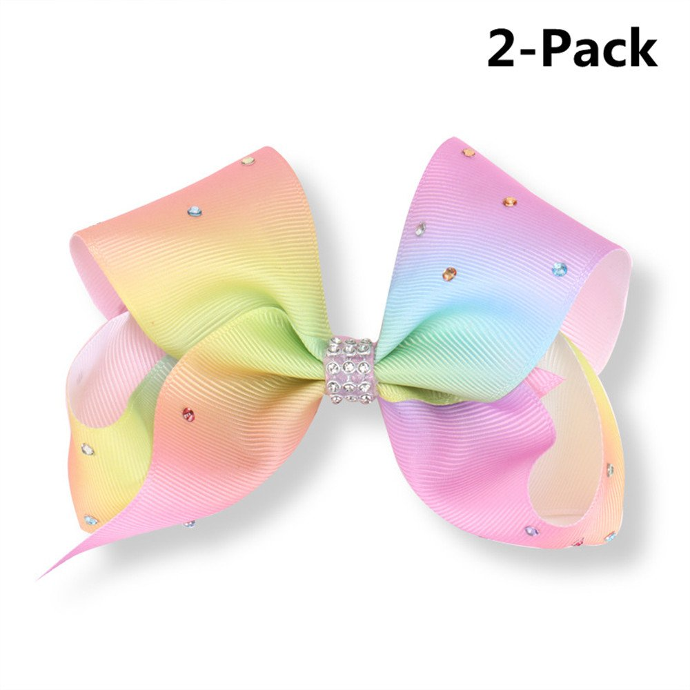 Wazonton JoJo Siwa Large Cheer Hair Bow, Hair Clip Accessories for Girls