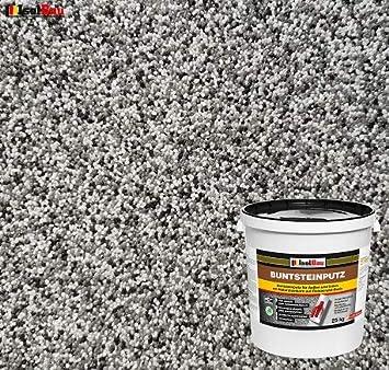 weiss, grau, schwarz Buntsteinputz Mosaikputz BP10 5kg Absolute ProfiQualit/ät