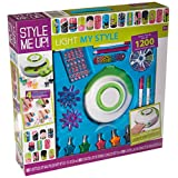 Style Me Up - Light My Style Mega Nail Art Kit. Craft Activity for Girls. Kids Nail Art kit - SMU-1768