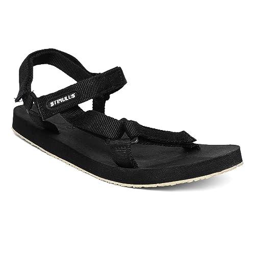 Stimulus Black Formal Sandals
