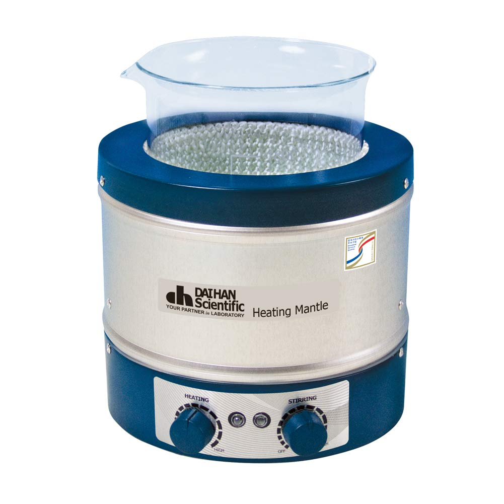 DAIHAN Beaker Heating Mantle Al-case, Stirring-Type, w/Control, 120V (B.250ml)