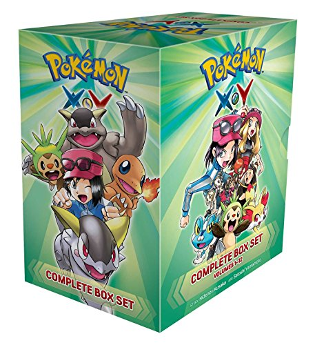Pokémon X•Y Complete Box Set: Includes vols. 1-12 (Pokemon) (Pokemon X And Y Official Strategy Guide)