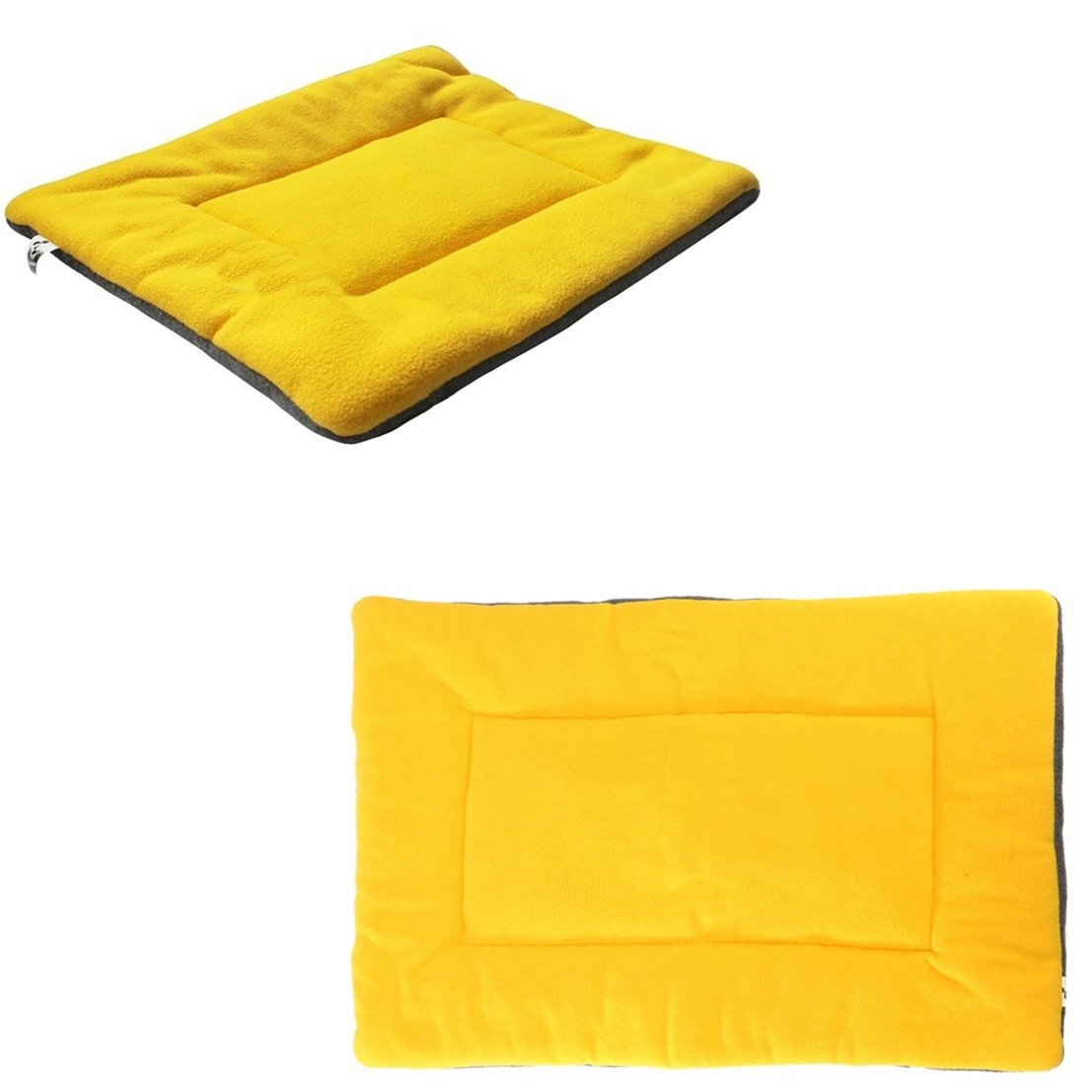 1Pcs First-class Popular Pet Bed Sleep Mat Size XL Soft Pad Cat Couch Kennel Color Yellow