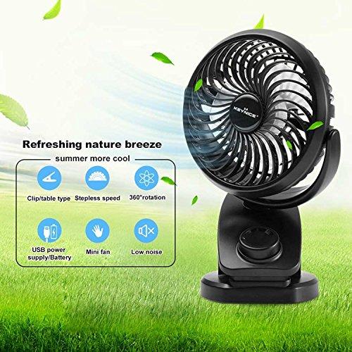 Buy battery operated clip on fan