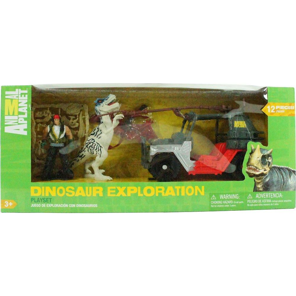 Amazon.com: Animal Planet dinosaurio Playset – Vehículo de ...