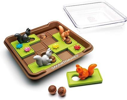 SmartGames Plastic Squirrels Go Nuts (Multicolour)