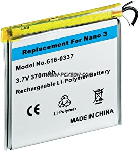 Internal Inner Li-ion Polymer Battery Repair Replacement for iPod Nano 3rd Gen 4gb 8gb