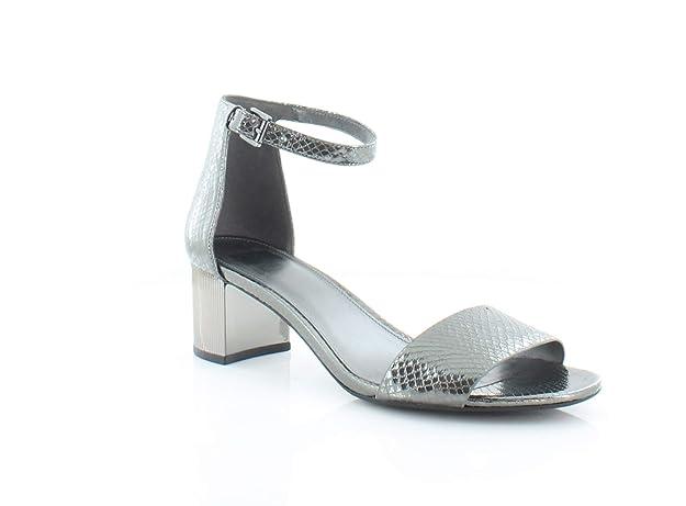 Michael Kors Paloma Flex Women's Sandals & Flip Flops Gunmetal Size 9.5 M