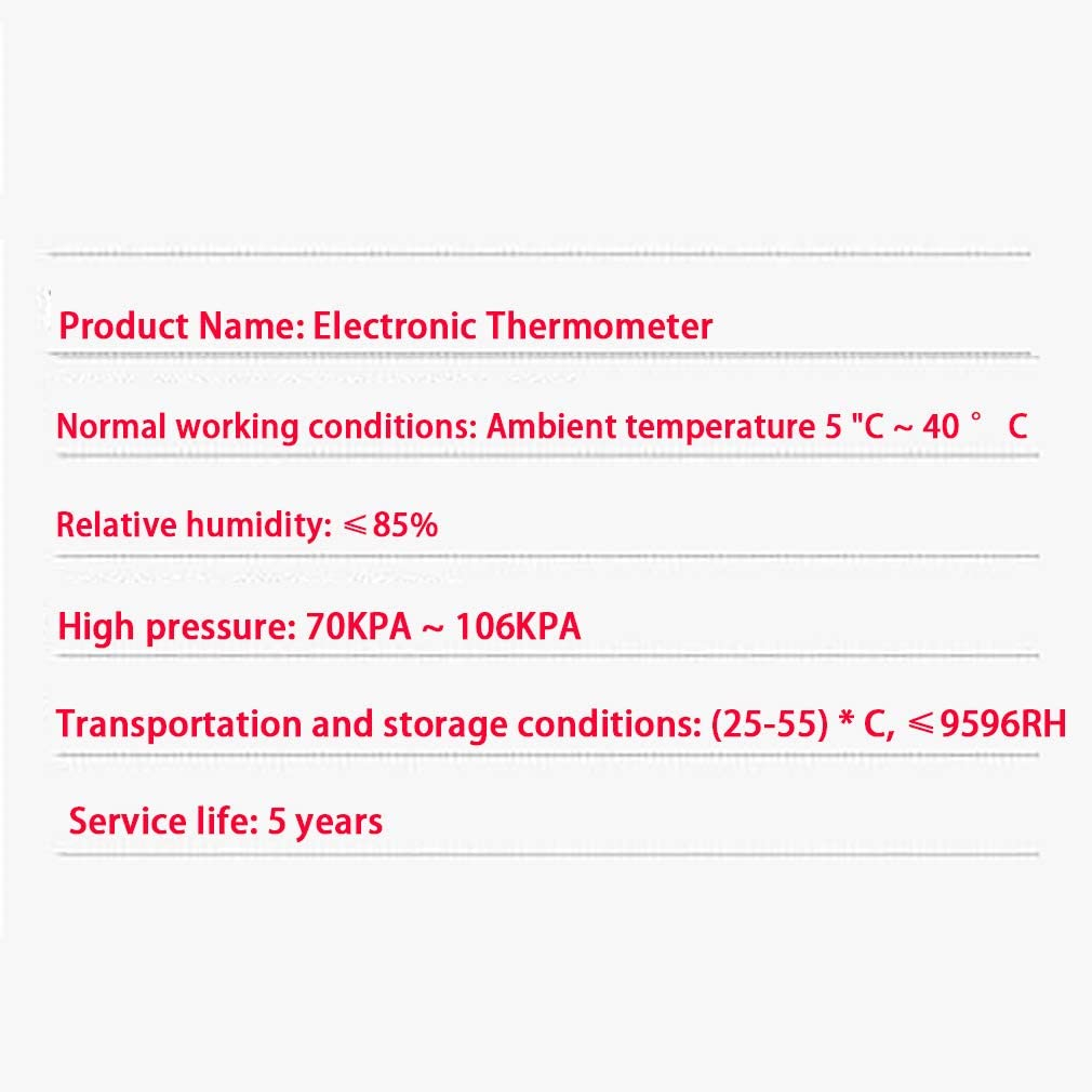 Precision Thermometer Home Medical Electronic Infrared Thermometer Thermometer for Children and Adults