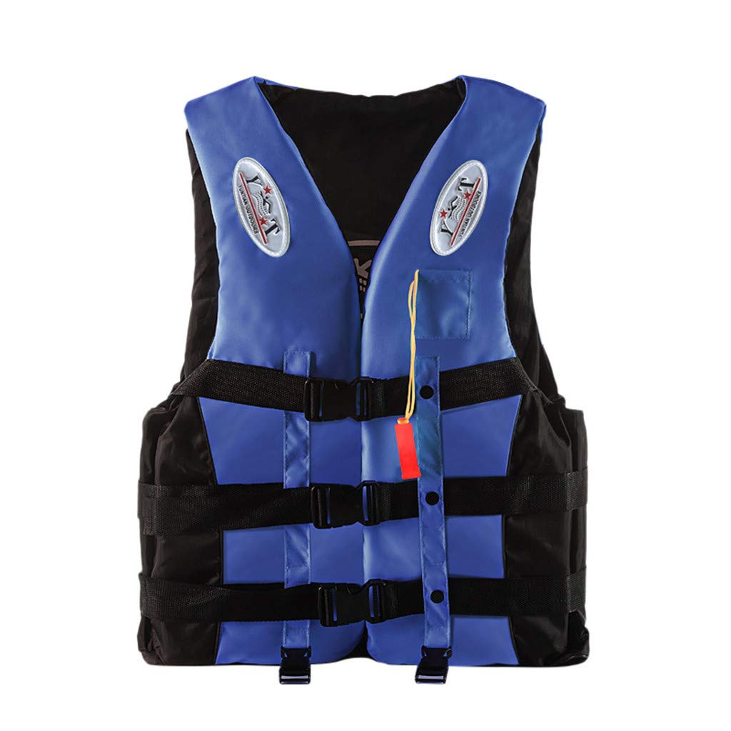 DDDF Adults Life Jacket Aid Vest Personal Flotation Device for Kayak Ski Surfing Fishing Boating Watersport