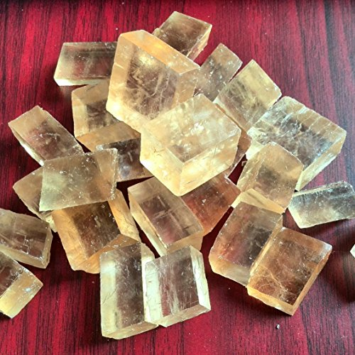 yellow calcite beads - 3