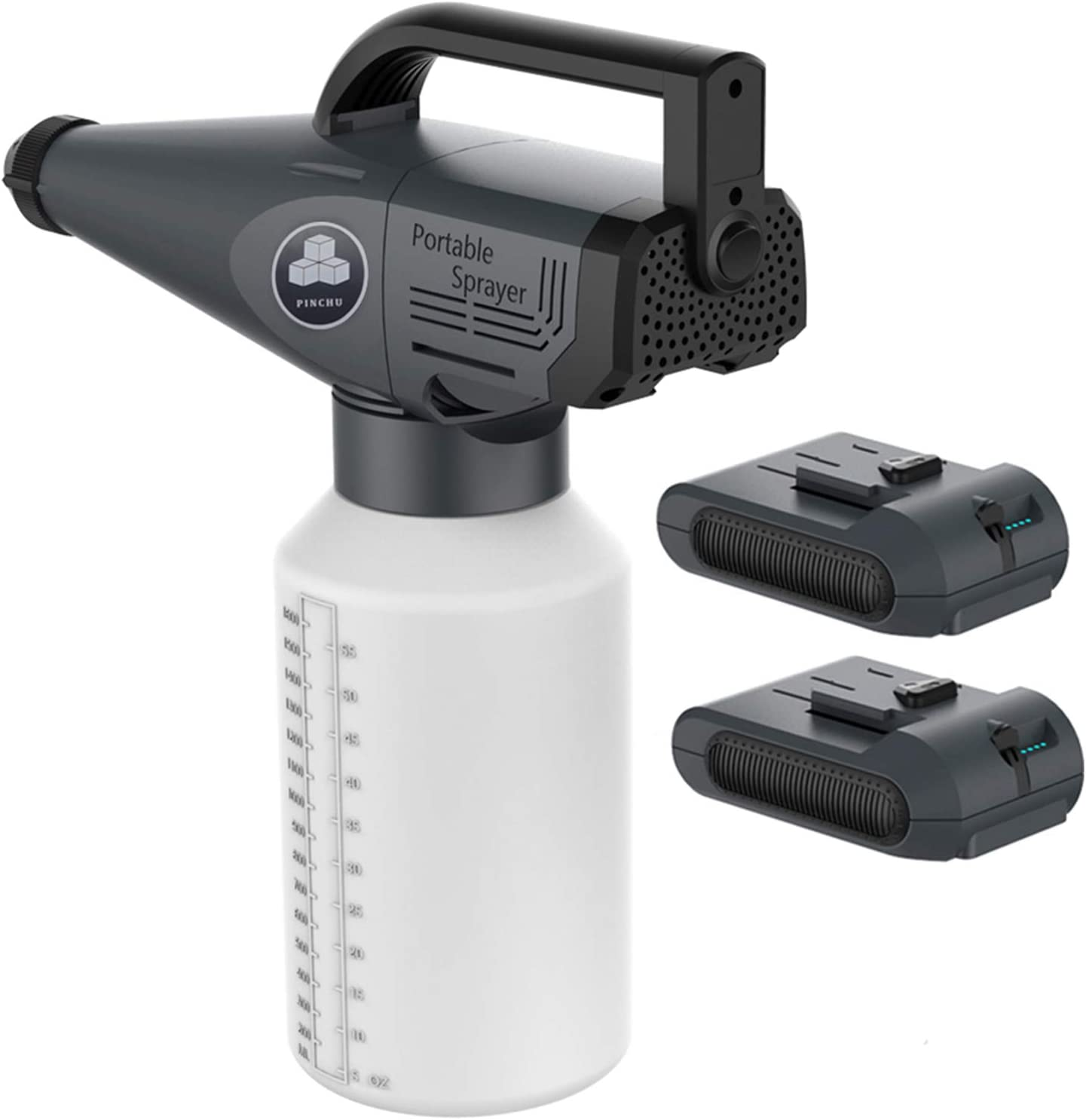 2020 portátil recargable electrostática rociador de la niebla, Inalámbrico ULV Nebulizador, Mute Esterilización Pulverizadores Máquina con pilas spray pistola eléctrica
