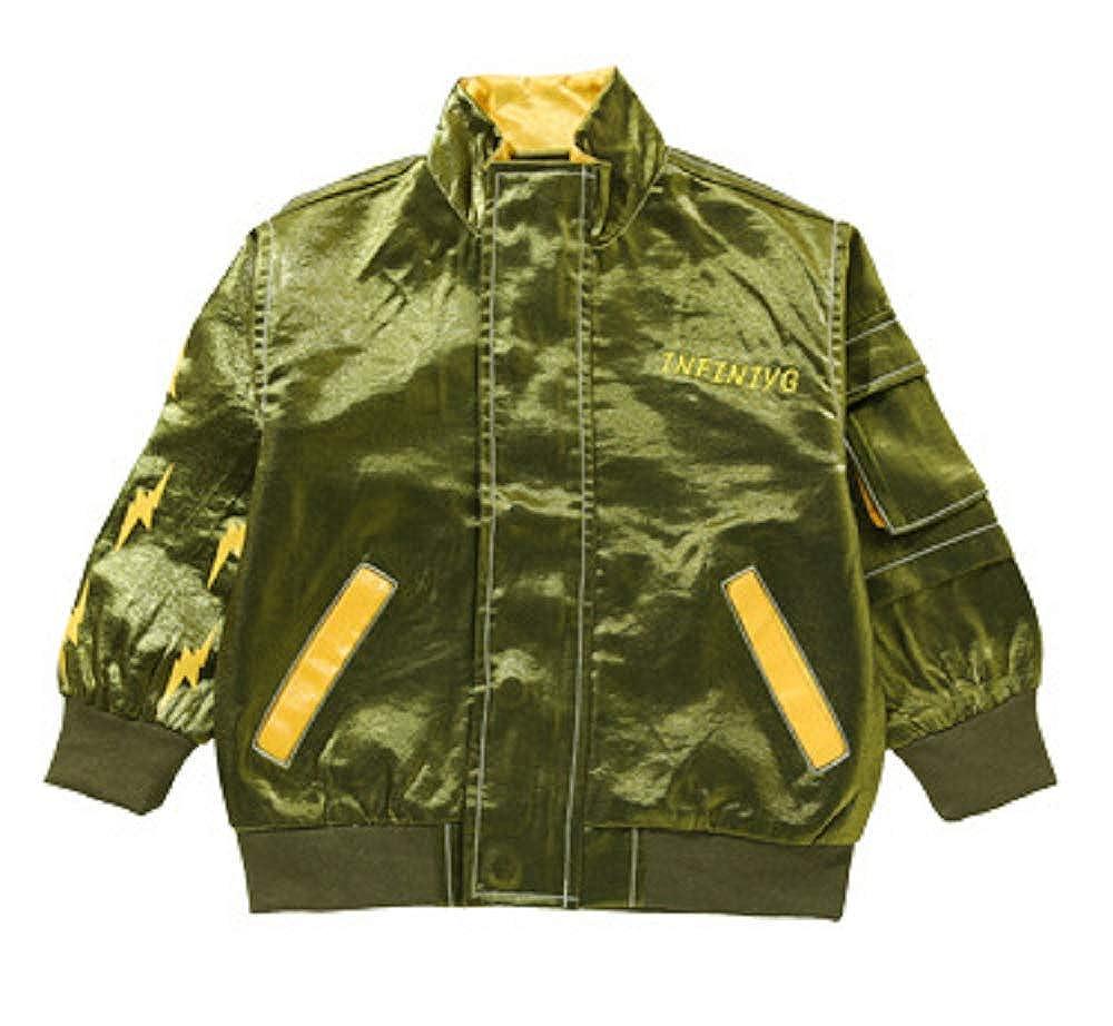 Happy angel Boys Flash Jacket Casual Outwear Bomber Fashion Jacket