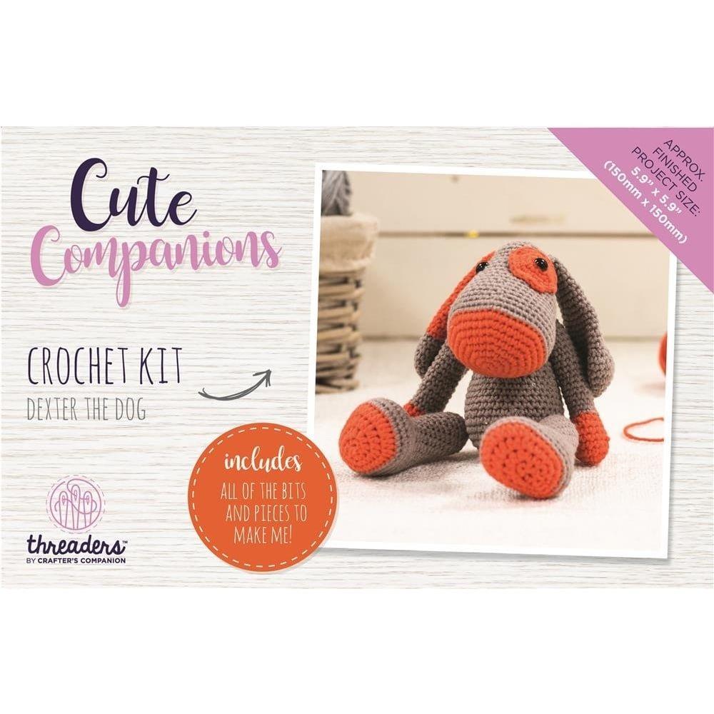 Kit de ganchillo de Threaders Crafter \'s Companion, diseño de perro ...