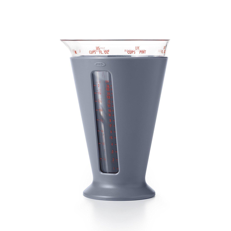 Compra Oxo Good Grips - Multi Escalas de medición Taza - 500 ML, plástico, Gris en Amazon.es